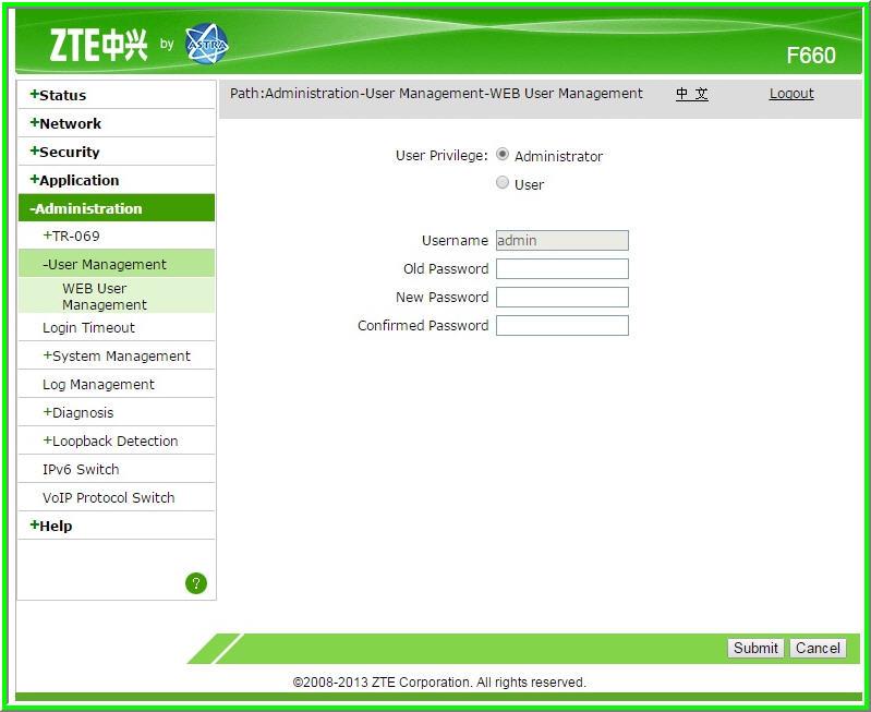อยากทราบ user password เข้า router zte F660 ais fiber - Pantip