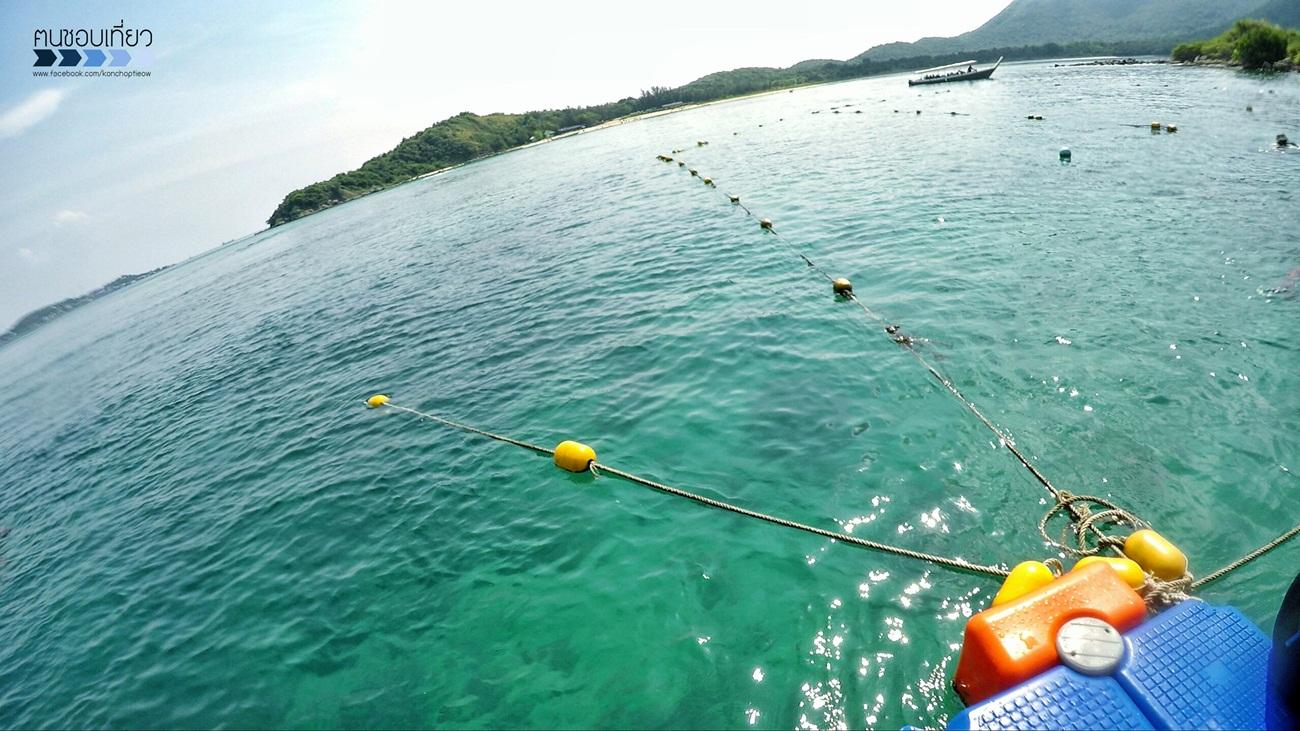 เกาะแสมสาร ทะเลใกล้กรุงเทพ ชลบุรี
