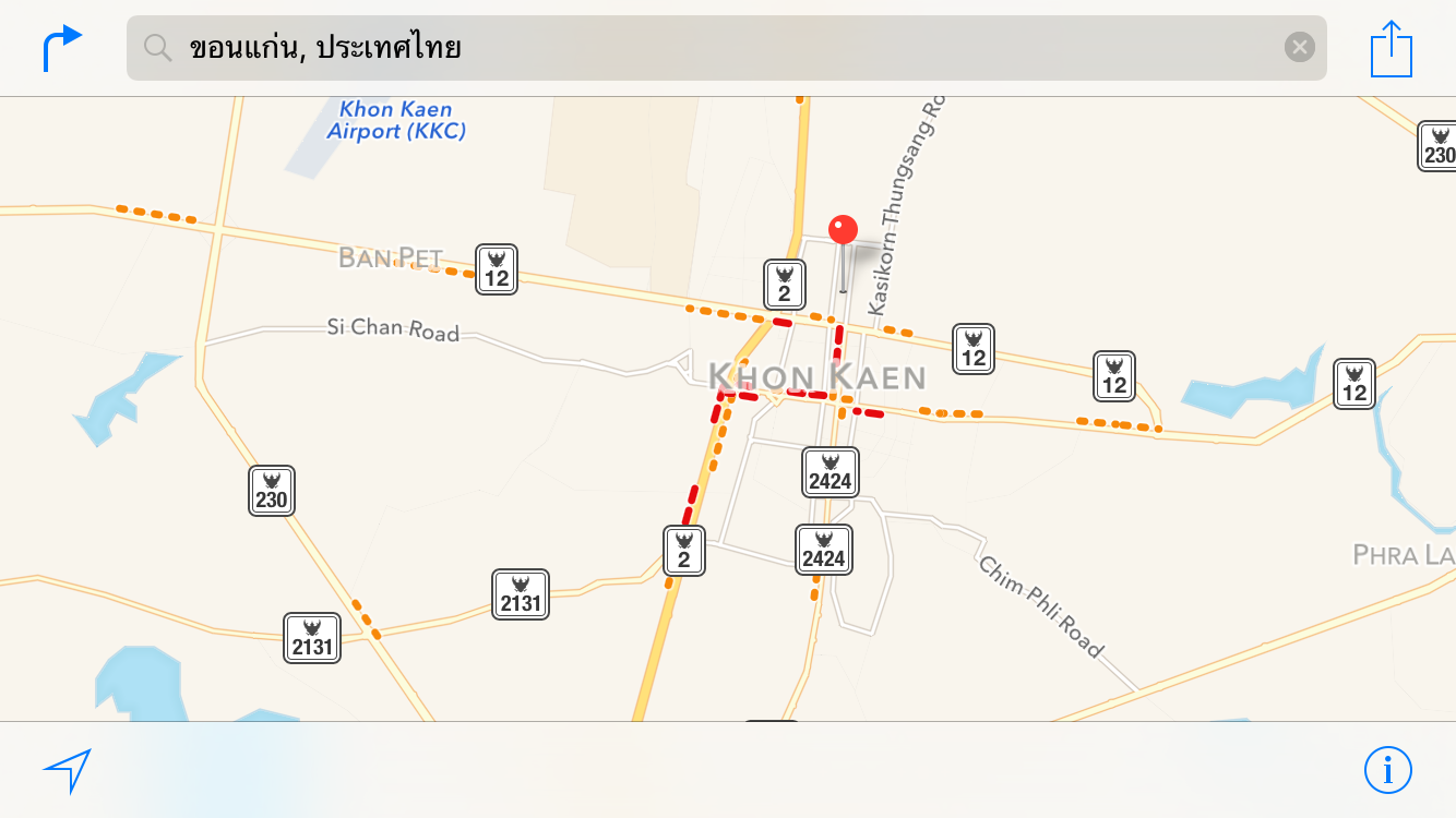 how to show traffic on apple maps