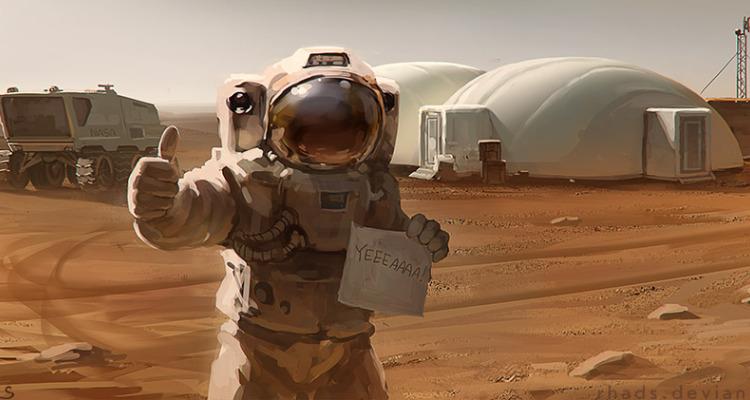 ไปดูมาแล้ว The Martian (สปอยล์100%จากคนอ่านนิยายก่อนไปดู) - Pantip
