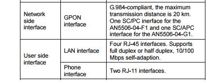 FiberHome รุ่น an5506-04 by TOT - Pantip