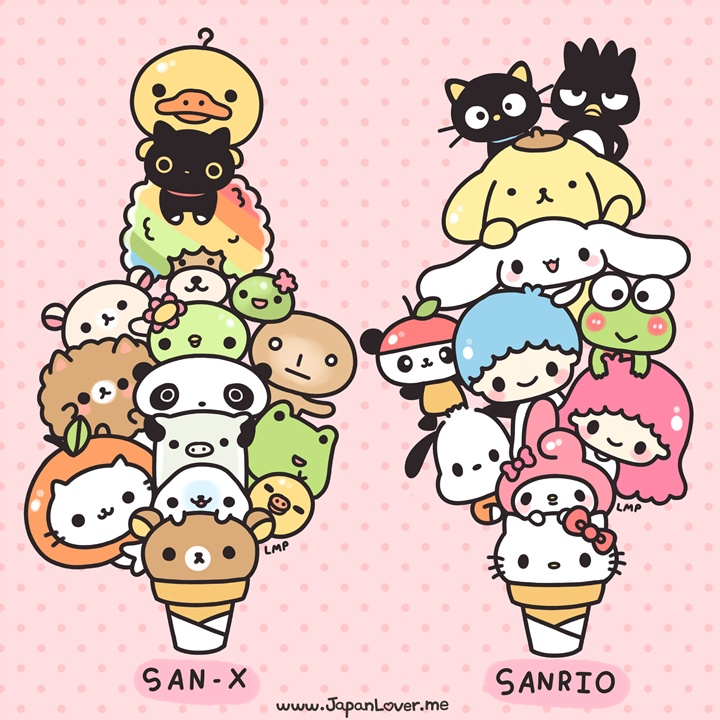 Sanrio san x pantip - Cute asian cartoon wallpaper ...