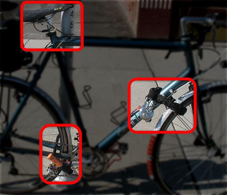 การล็อคจักรยานให้ถูกวิธี