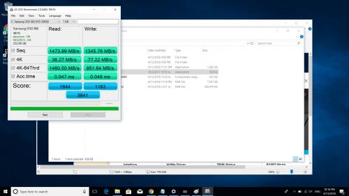 SSD Samsung 850 EVO เปิด Rapid Mode จะส่งผต่อ ssd ยังไงครับ - Pantip