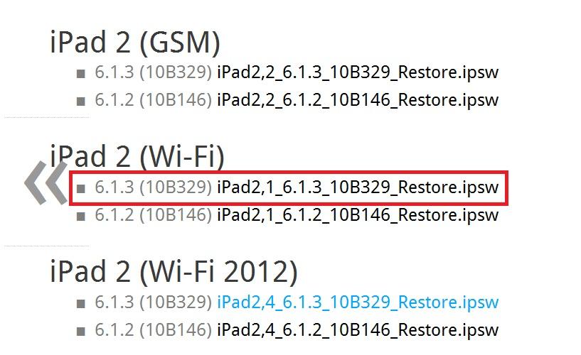 ถามปัญหาเรื่อง downgrade ios 7 --> ios 6 1 3 ipad2 ด้วยจ้า ทำไมทำไม่