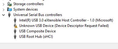 ไดร์เวอร์ USB มันแจ้งแบบนี้ต้องแก้ยังไงครับ? - Pantip