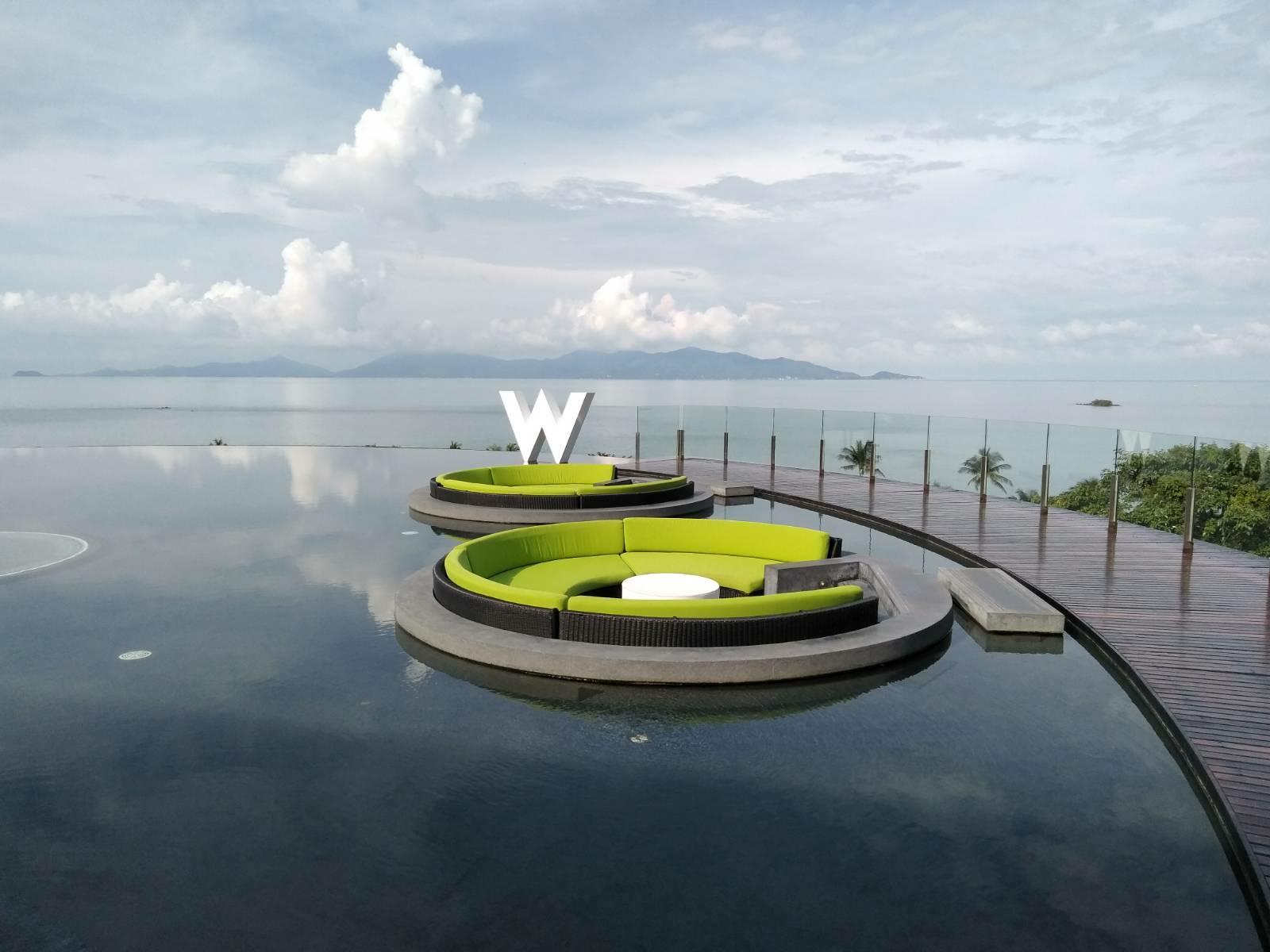 Review W Koh Samui Ocean Front Haven Villa 1 King Sofa Bed