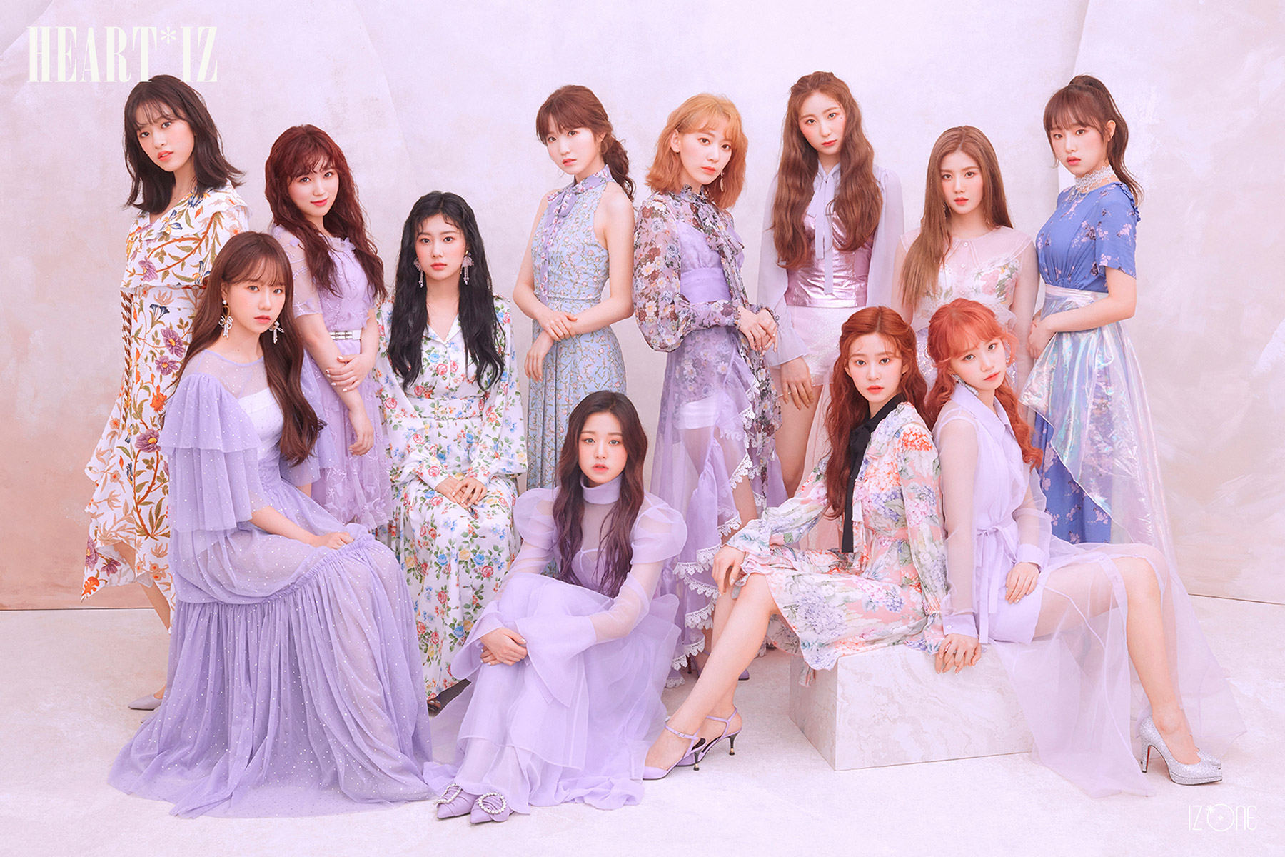 IZ*ONE : Violeta ไอดอลเกาหลี Produce X 101