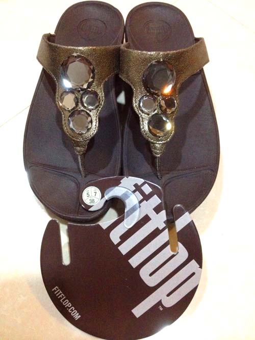 fitflop lunetta bronze