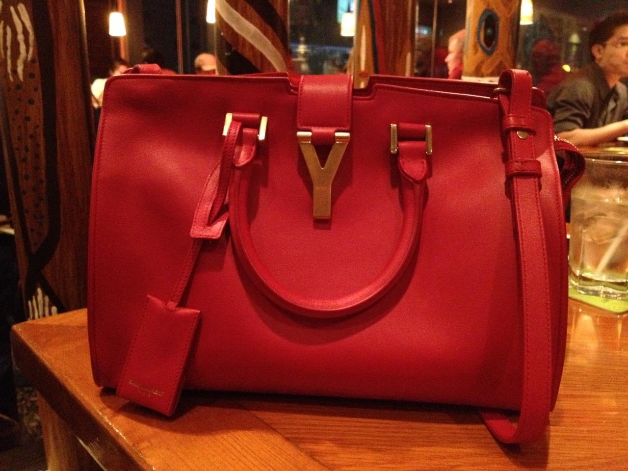 CR ????? speedy, NF and Saffiano ??? YSL mini Cabas ChYc bag ???????