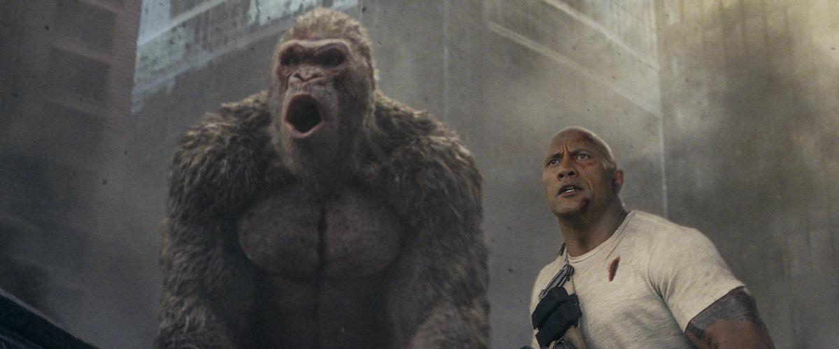 Review] Rampage ใหญ่ชนยักษ์ - หนังเอามันส์อย่างเดียว และก็มันส์ ...