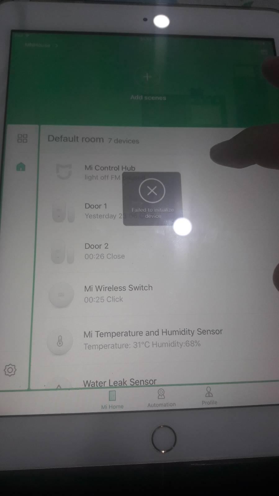 ชุด smart home mijia เชื่อม gateway ไม่ได้ - Pantip