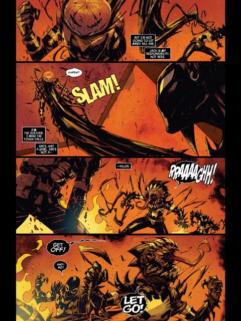 Marvel Comic : Venom 39 : Venom & Mania & Jack