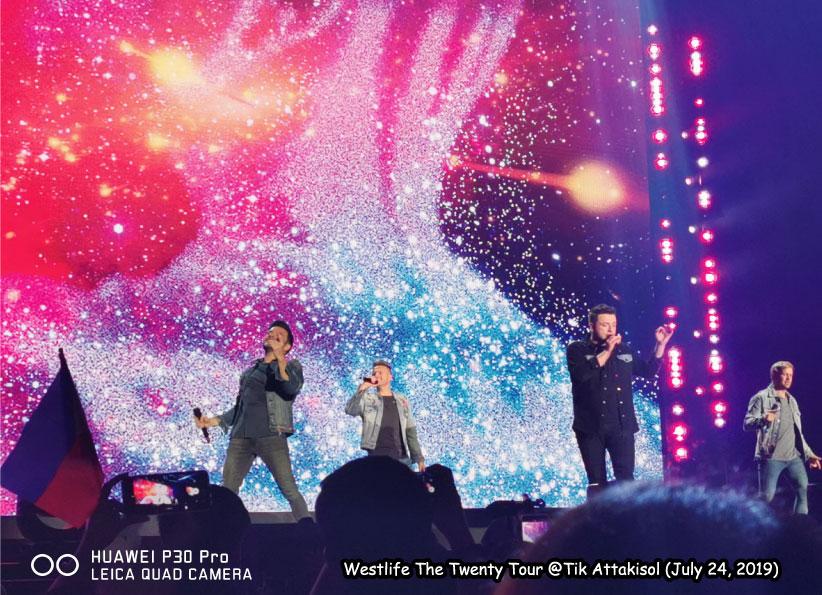รีวิวคอนเสิร์ต Westlife The Twenty Tour Live in Bangkok 2019