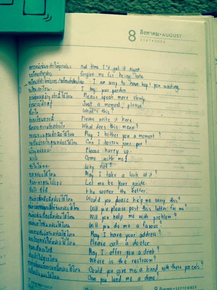 คำไทยที่มาจากภาษาอังกฤษ