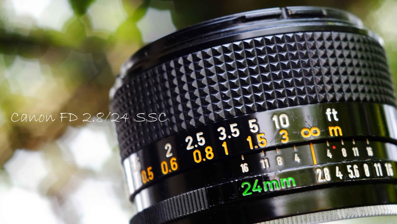 CANON FD 2 8/24 และ CANON FD 3 5/35-105 zoom lens ของดีที่ถูกลืม
