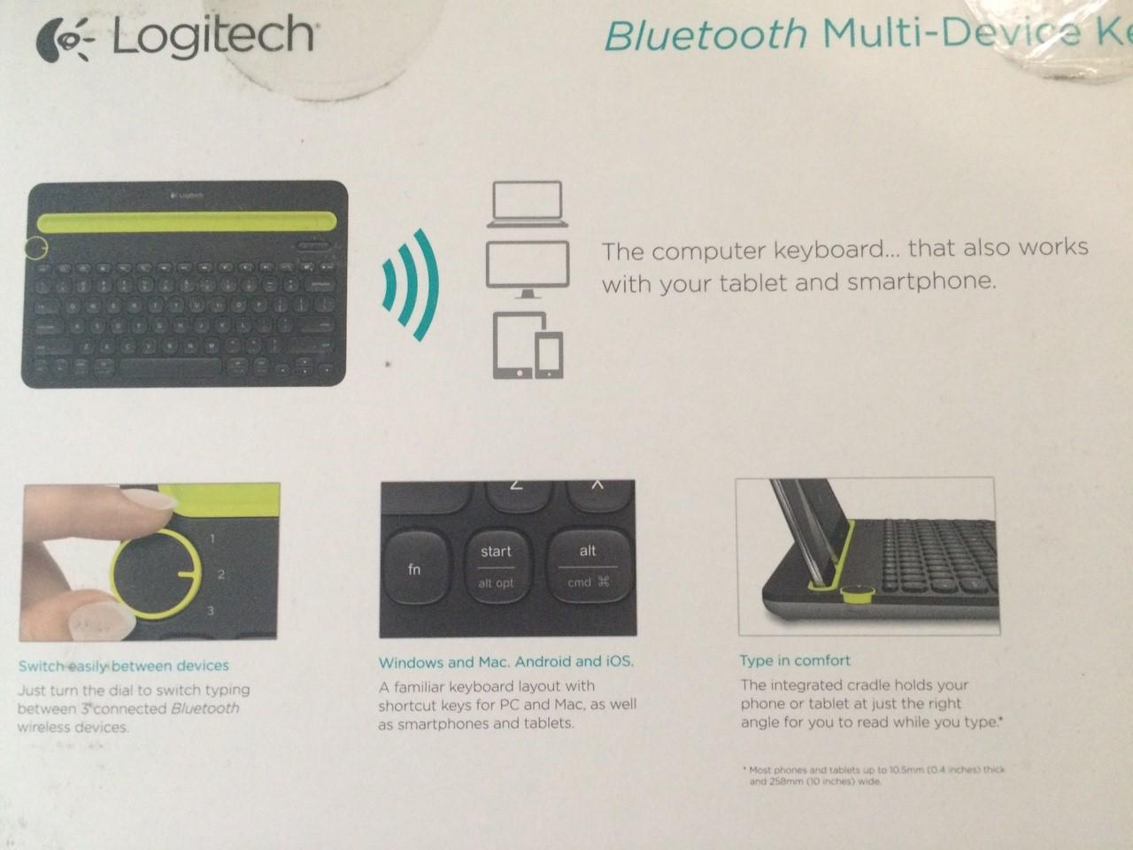 แจ่มโคตร !! Review LOGITECH BLUETOOTH KEYBOARD K480 ใช้งานบน