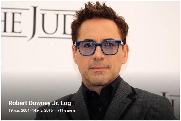Robert Downey Jr. ผู้ชายอะไร ยิ่งแก่ ยิ่งน่าร้ากกกกกกกกกกกกกกก <3