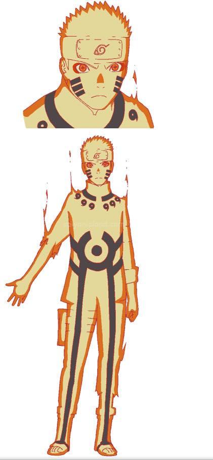 Naruto The Last Character Design Color : นารูโตะกับฮินาตะ  thelast naruto pantip