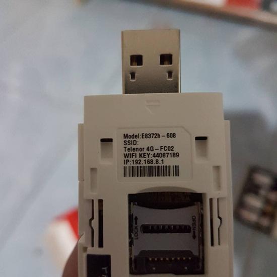 วิธีการตั้งค่า Router 4G USB WIFI - Huawei E8372 [E8372h-608