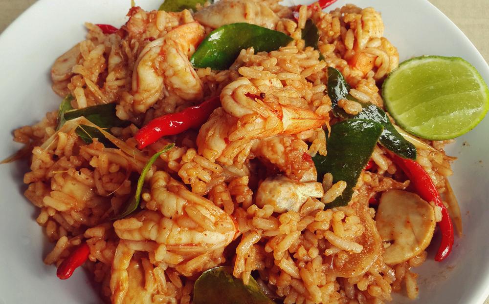 thai food, thai dishes, street food, rice dishes, thailand