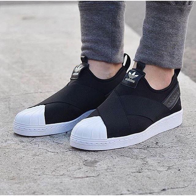 size 40 f542c 5d22d ใครที่ใส่ Adidas slip on ช่วยแนะนำไซส์หน่อยค่ะ - Pantip