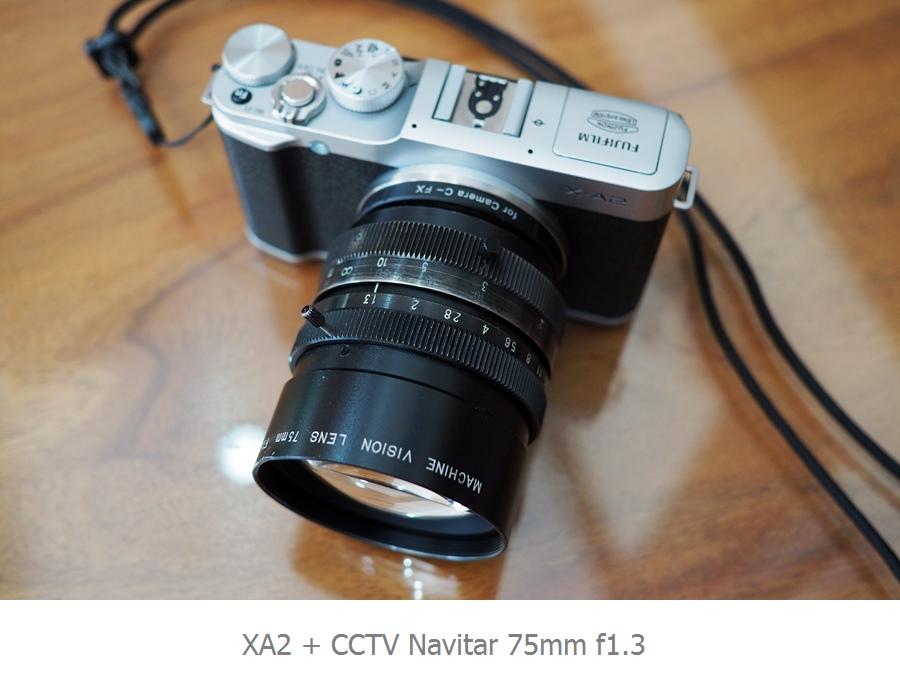 CCTV 75mm F13 C Mount