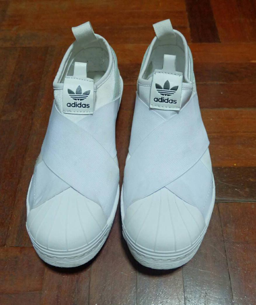 best loved 8ee96 2f58e adidas Slip on ของแท้ vs. ของปลอม - Pantip