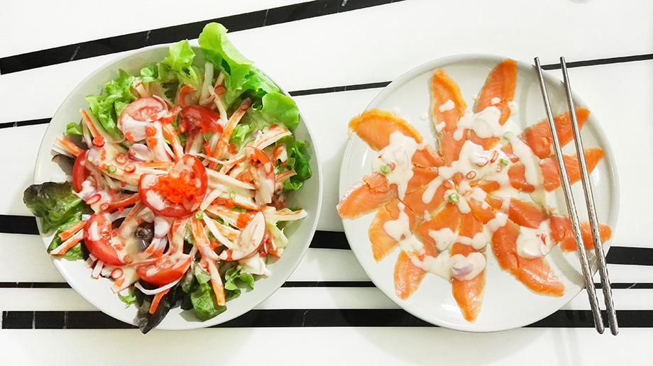[CR]ยำสลัดปูอัด ทำเอง ฟินเอง เหมือนยกร้านอาหารญี่ปุ่นมาไว้ที่บ้าน