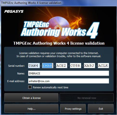 โปรแกรม tmpgenc authoring works 5 full