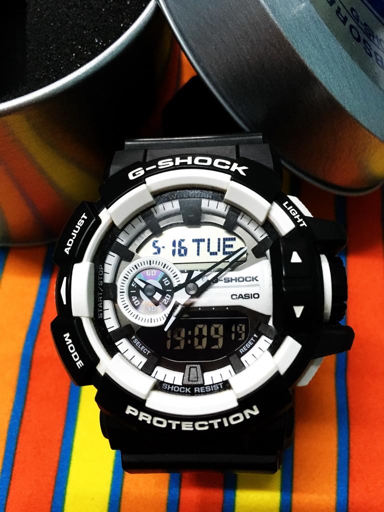 Casio G Shock Ga 400hr 1adr 400