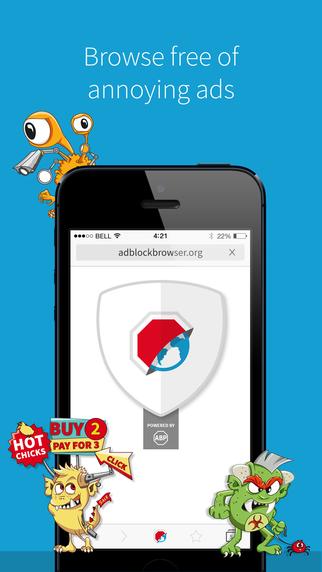 AdBlock Plus เปิดตัว AdBlock Browser ทั้งบน iOS และ Android
