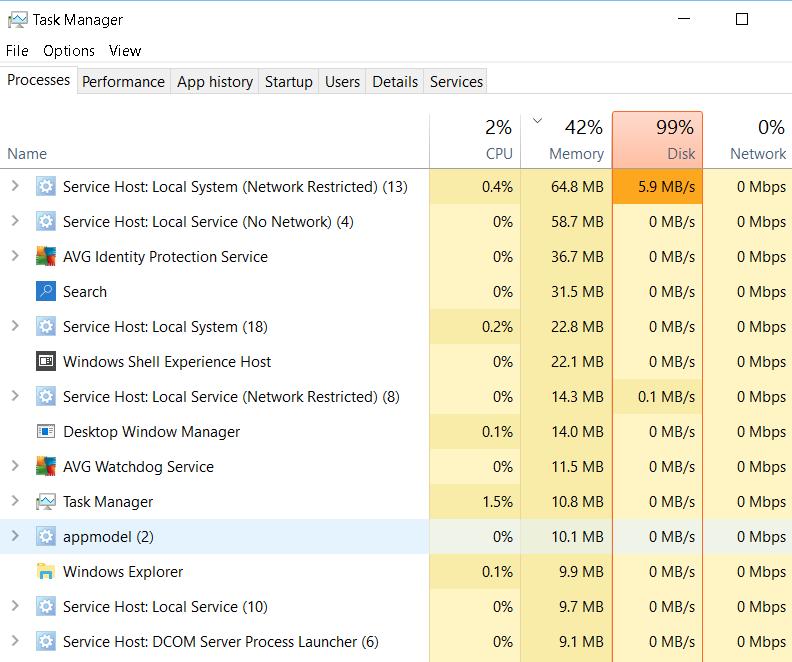 disk 100 % ใน task manager คืออะไร - Pantip