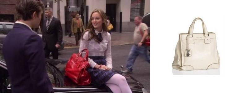 Gossip Girl Style : Blair Waldorf : Queen B : The Bag Lady