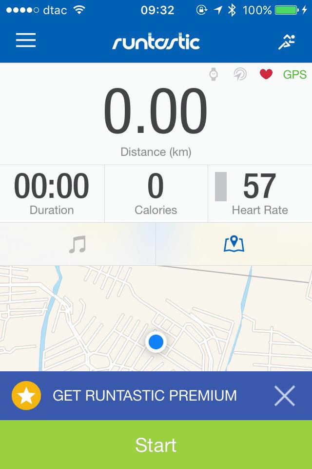 การใช้ Xiaomi Mi Band 2 เพื่อวัดอัตราการเต้นหัวใจในแอพวิ่ง