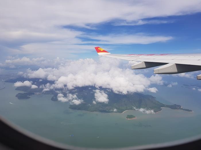 --เกาะฮ่องกง หลังจากเปลี่ยนเครื่อง--