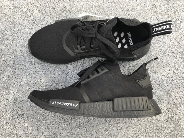 pretty nice ca97a a55ae SneakerReview: adidas Original NMD R1 PK Japan Triple Black ...