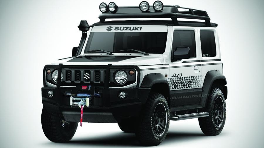 Suzuki Jimny กับหลากหลายเวอร์ชั่น ก่อนเปิดตัวจริงในสัปดาห์