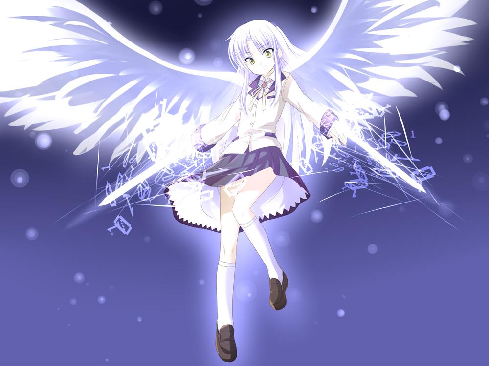 Image result for อนิเมะ angel beats นางเอก