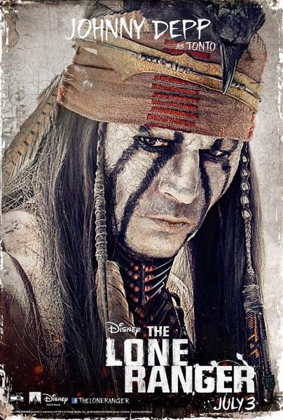 ตัวอย่างหนังใหม่ : The Lone Ranger (หน้ากากพิฆาตอธรรม) ตัวอย่างที่ 3 ซับไทย poster