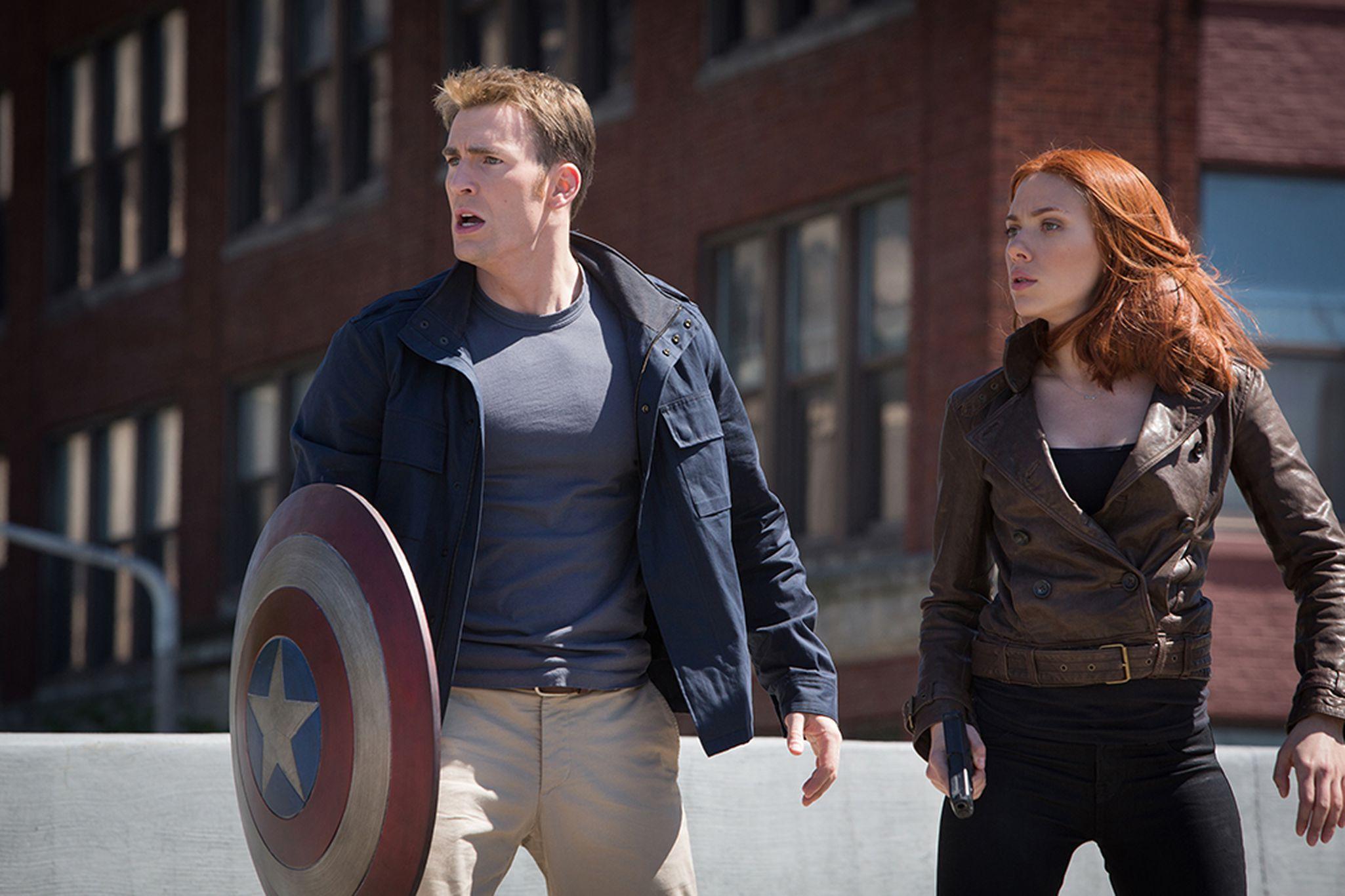 คนเดียวก็ดูหนังได้) Captain America: The Winter Soldier (2014) - Pantip