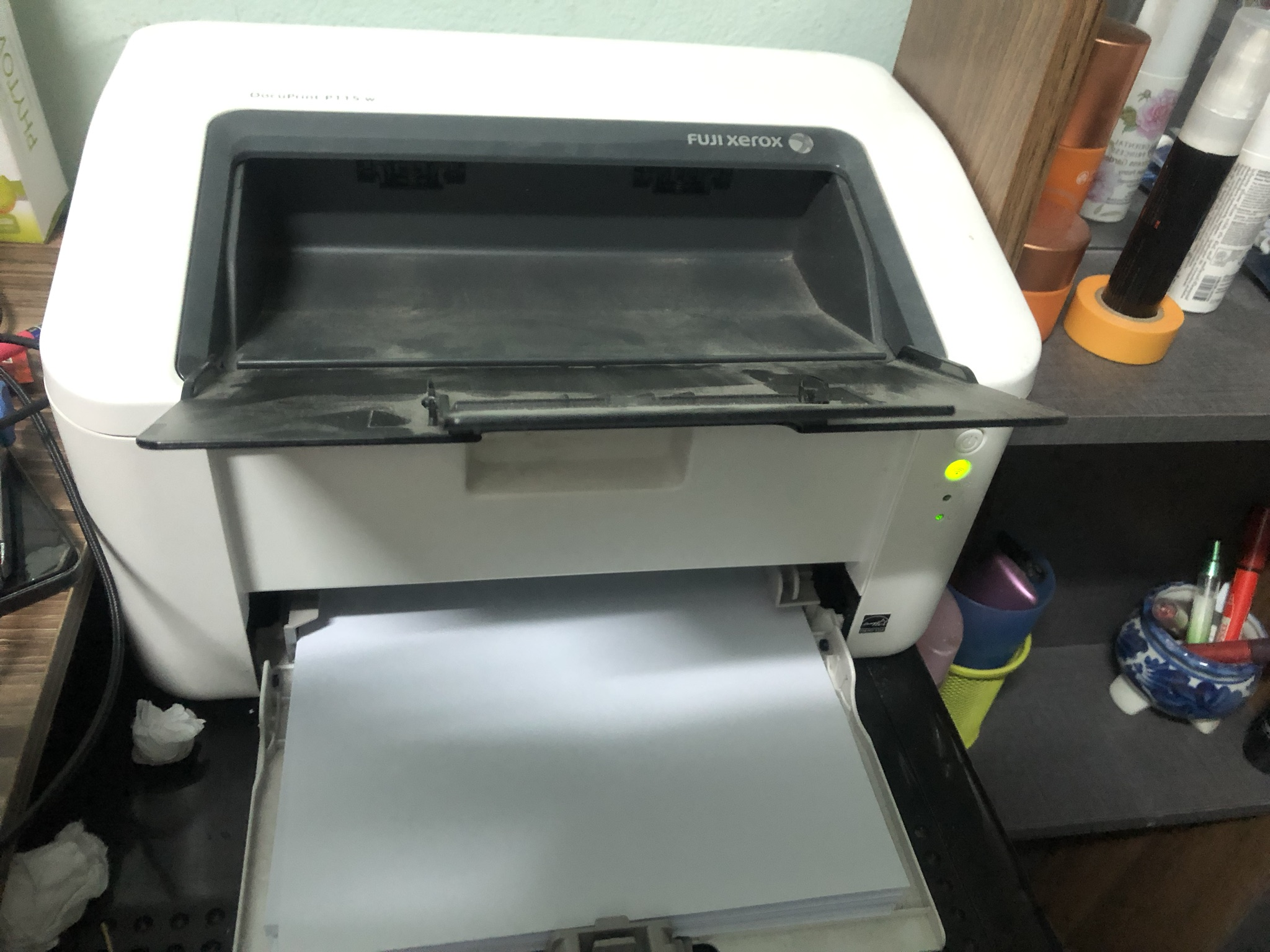 ขอทราบวิธี Reset ตลับ Toner ของ Printer ยี่ห้อ Fuji Xerox DocuPrint