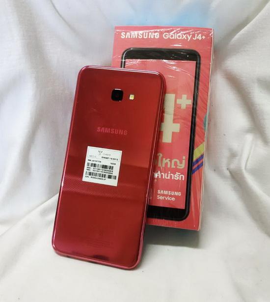 ขาย Samsung GALAXY J4 Plus (2018) ตัวเครื่องสีชมพูหวาน จอ 6 นิ้ว ฟัง