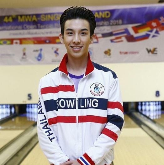 ''ดิน''หนุ่มน้อยหน้าใส ดีกรีนักกีฬาโบว์ลิ่งเยาวชนทีมชาติ