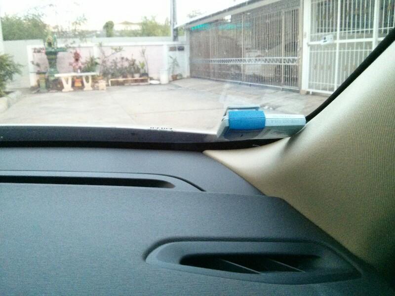 ติด easy pass ไว้ตรงไหนของกระจกรถ ครับ - Pantip