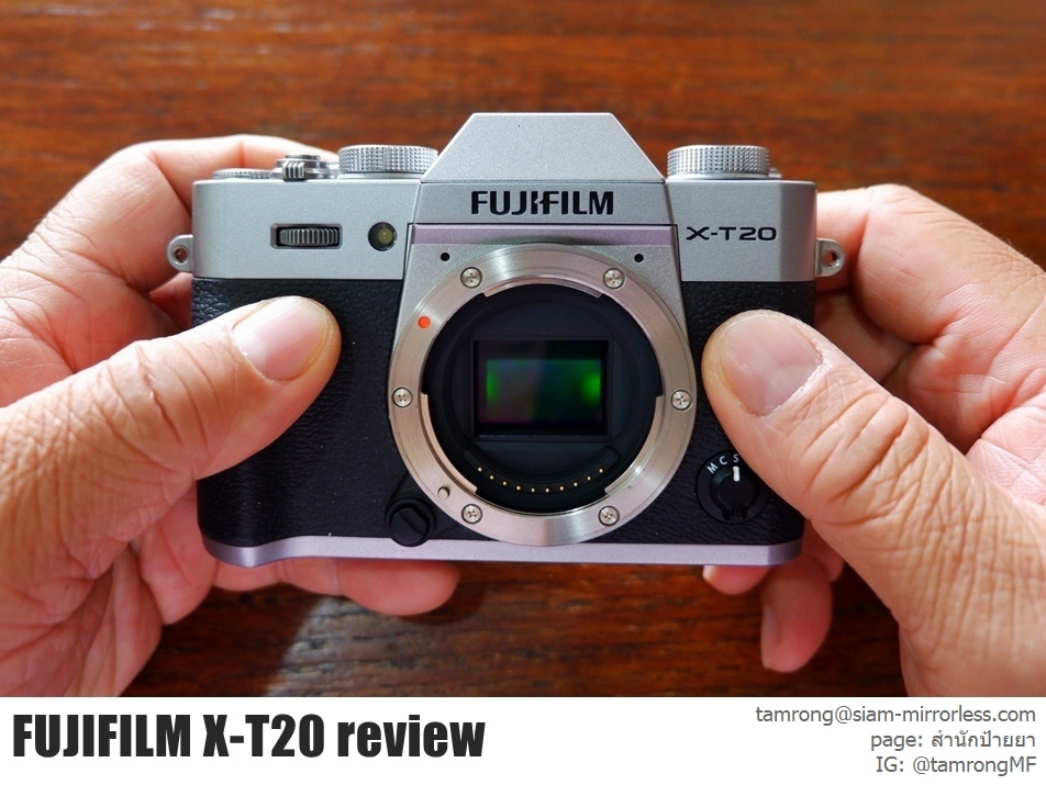 Fujifilm Thailand Fuji XT20 Kit 18 55mm F28