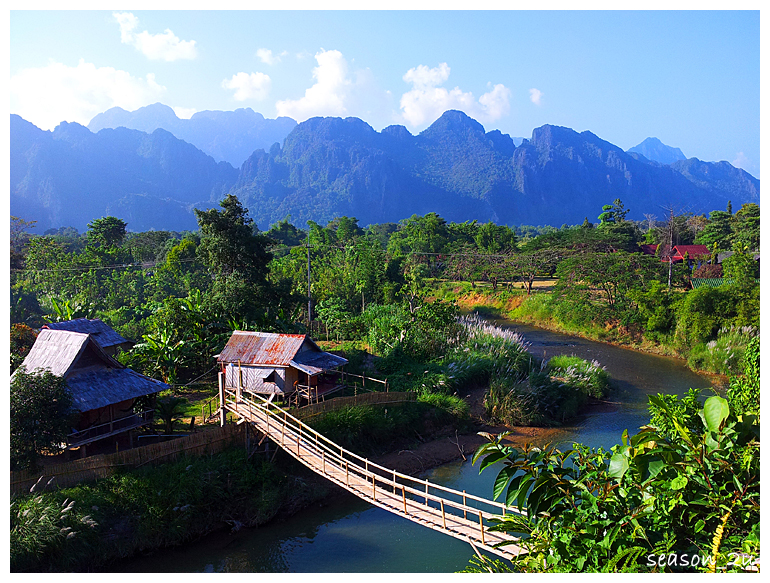 วังเวียง ~ ວັງວຽງ ~ Vangvieng The Lost Paradise