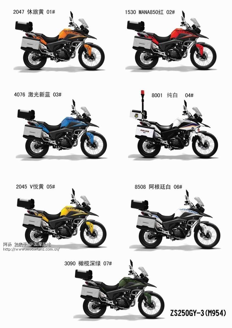 zongshen 250cc adventure bike