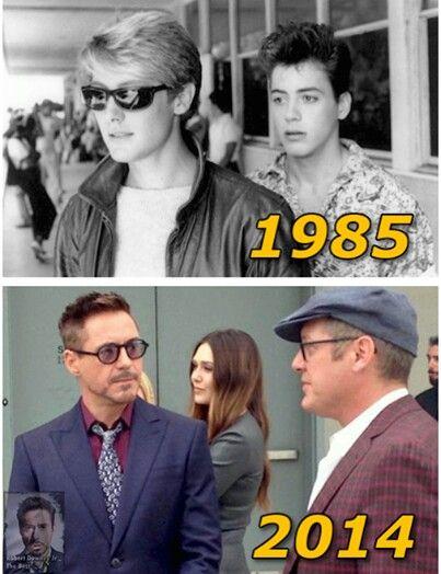 32 James Spader และ Robert Downey Jr. เคยแสดงหนังร่วมกันในเรื่อง Tuff Turf  (1985). และอีก 30 ปีต่อมาพวกเขาก็ได้มาเจอกันอีกครั้ง ใน Avengers: Age of  Ultron ...