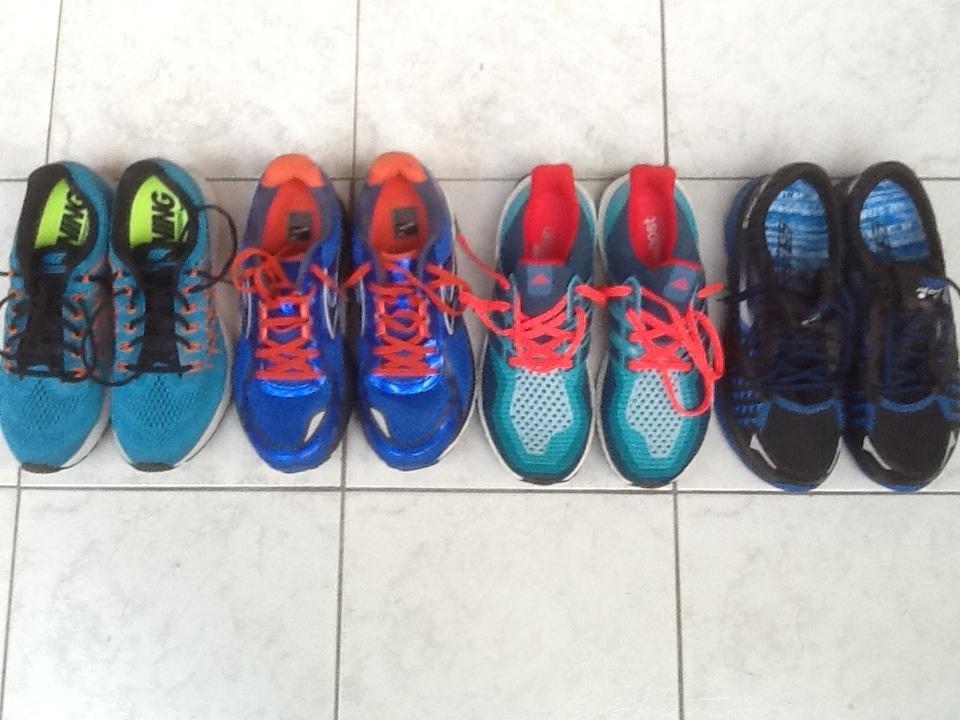 new product 055a6 ec6c9 ... Nike Air Zoom Structure 19  CR รีวิวสั้นๆ รองเท้าวิ่ง 4 คู่ (Pegasus,  Ghost, Ultra boost, ...